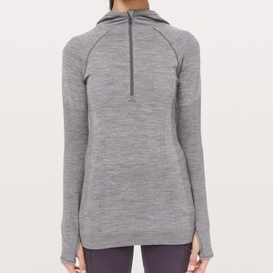 NWT! Lululemon Swiftly Wool 1/2 Zip Hoodie